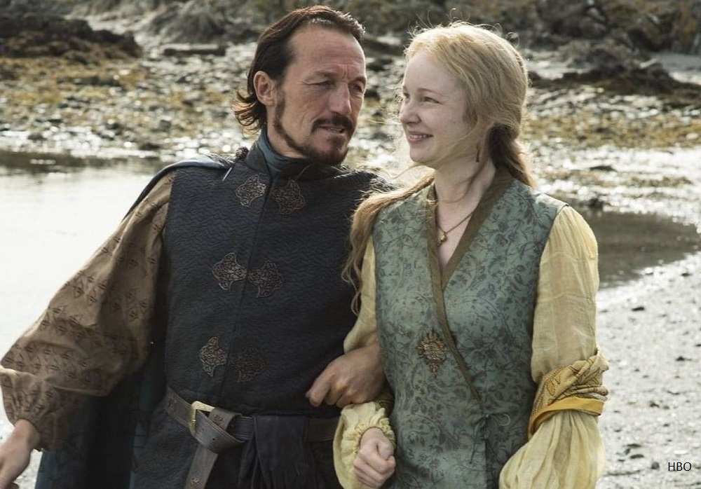 Lollys Stokeworth in HBO's Game of Thrones. Played by Elizabeth Cadwallader - graduate of London drama school The Bridge Theatre Training Company